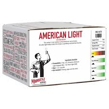 american light lager recipe american light 20 minute boil kit midwest supplies