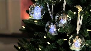 kringle express set of 5 illuminated glass ornaments with gift