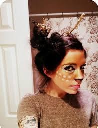 Deer Halloween Costumes Deer Costume Makeup Halloween Holiday Ideas