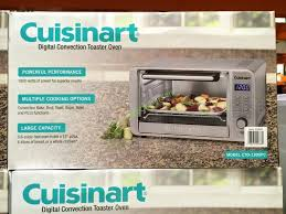 Cuisinart Toaster Oven Broiler With Convection Cuisinart Digital Convection Toaster Oven Model Cto 1300pc