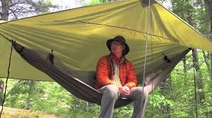 hammock camping is like your first kiss youtube