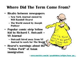 yellow journalism ms muson mrs masi ppt