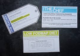 grab go low fodmap info cards for a digestive peace of mind