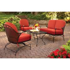 Patio Furniture With Fire Pit Set - better homes and gardens warrens 5 piece firepit set