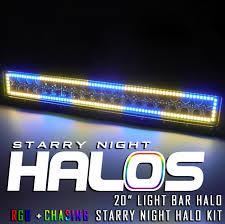 20 In Light Bar Starry Night Halos Rgb Chasing 20