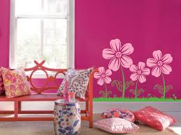large wall flower nursery decal 1123 innovativestencils flower floral wall decal for girls room with