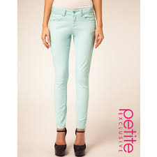 Mint Colored Skinny Jeans Mint Jeans How To Wear Mint Jeans Plumede