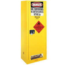flammable liquid storage cabinet slim line 170l flammable liquid storage cabinet au25308