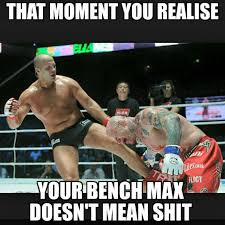 that moment you realise your bench press max doesn u0027t mean
