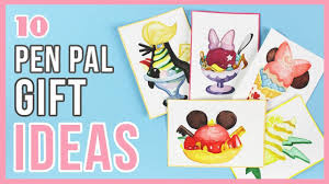 10 inexpensive gift ideas for pen pals
