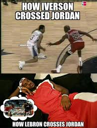 Allen Iverson Meme - nba memes on twitter allen iverson vs lebron james against