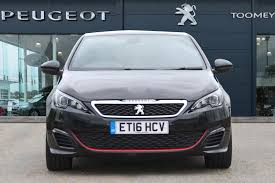 peugeot 2016 for sale used 2016 peugeot 308 gti thp s s by ps for sale in essex