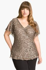 nordstrom blouses papell sequin chiffon top plus available at nordstrom
