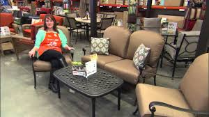 Patio Tables Home Depot 2013 Patio Furniture Collections Youtube