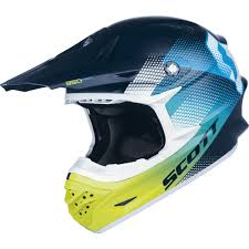 motocross helmet cheap motocross helmet scott 350 pro dirt blue green insportline
