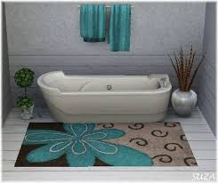 Aqua Bathroom Rugs 42 Best Bathroom Rugs Images On Pinterest Bathrooms Rugs