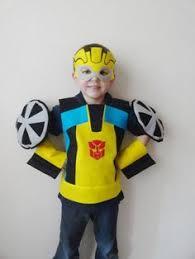 Kids Robot Halloween Costume Handmade Toddler Boy Halloween Costumes Transformer Halloween