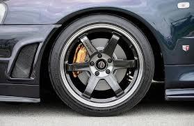 mercedes amg black rims volk te37sl pressed black wheel 17x75 5x114 40mm offset