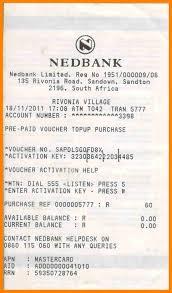 4 nedbank deposit slip resumed job