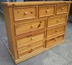 Solid Pine Furniture Unfinished Pine Dresser Solid Pine Dresser 6 Drawer Dresser
