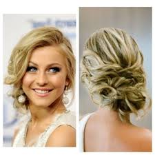 prom buns hairstyles quick side updo for prom or weddings d