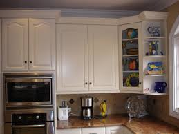 Kitchen Corner Shelf Ideas Kitchen Cabinet End Shelves Home Decoration Ideas
