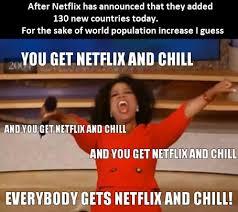 Chill Meme - neflix and chill around the world