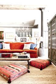 beach house color ideas coastal living cool blue and orange room