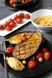 cuisiner aubergine four aubergines rôties au four ou au barbecue gourmandiseries