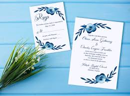 What Is Rsvp On Invitation Card Watercolor Wedding Invitation Rsvp Card Floral Wedding