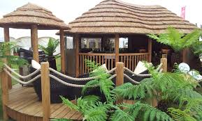 thatched garden buildings thatched gazebos julian christian