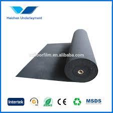 Insulation For Laminate Flooring 4mm Rubber Mat For Soundproof Silent Underlay Acoustic Underlay