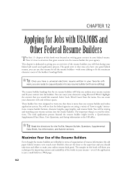 Federal Job Resume Builder by Usa Jobs Federal Resume Free Resume Example And Writing Download