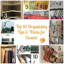 top 10 organizing tips u0026 tricks for closets living rich with