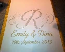 wedding runner customize your wedding aisle runner linentablecloth outside