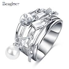 aliexpress buy beagloer new arrival ring gold online shop beagloer 2017 new arrival delicate ring gold
