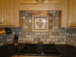 Kitchen Brick Backsplash Kitchen Backsplash Ideas With White Cabinets And Dark