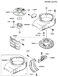 kawasaki fb460v parts list and diagram rs01 ereplacementparts com