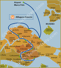 venice vaporetto map water venice vaporetto alilaguna arancio