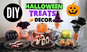 diy halloween snacks u0026 decor quick u0026 easy party treats youtube