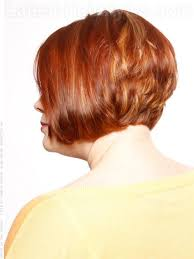 a line shortstack bob hairstyle for women over 50 stacked bob short hairstyle for older women side view clothes