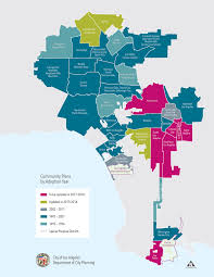 Map Of Beverly Hills Los Angeles by Community Plans Ourla