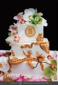 oriental wedding cake sugar dragon phoenix yeners