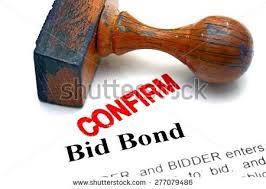 bid bond bid bond stock photo 277079486