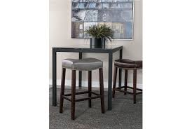 ina matte black 40 inch square dining table w clear glass living