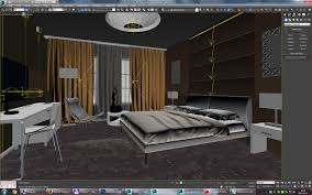 Bedroom Design 3ds Max Exclusive European Hotel Room Design Idea 3d Model Max Fbx Dwg