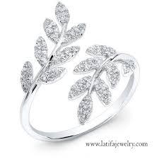 cincin emas putih cincin emas putih wanita latifa jewelry