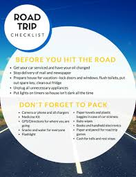 Vermont traveling checklist images Summer road trip checklist get ready for some fun nepa mom jpg