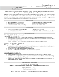 Real Estate Resume Templates Real Estate Resume Examples Samples Free Edit With Word Example