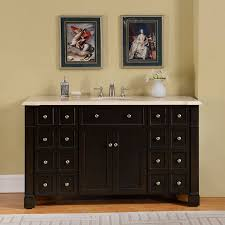 6276 cm uwc 60 60 single sink vanity cream marfil marble top cabinet